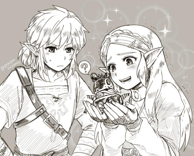The Legend of Zelda Breath of the Wild - Attention-Seeker (Doujinshi)